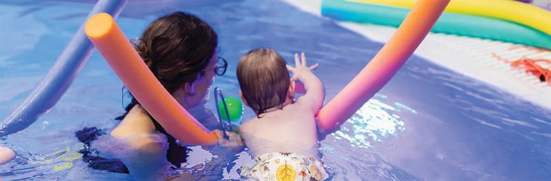 הידרותרפיה לתינוקות ופעוטות